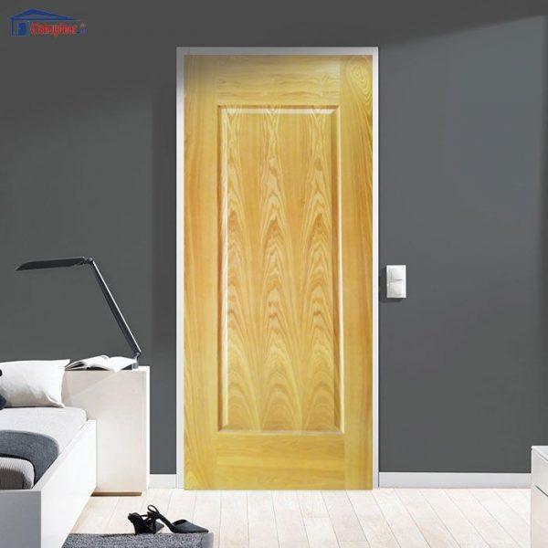 Cửa gỗ HDF Veneer GHD 1B-Oak