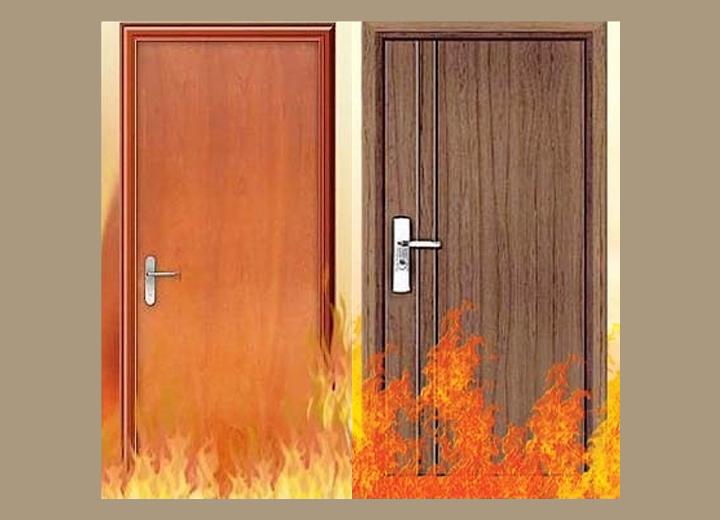 Cửa gỗ chống cháy là gì? Có ưu điểm ra sao?