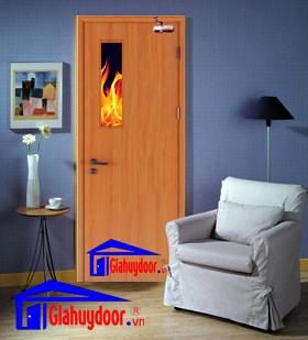 Cửa gỗ chống cháy đẹp - GIA HUY DOOR - Hotline: 0886.500.500