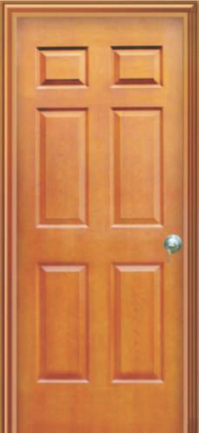 Cửa gỗ công nghiệp HDF Gia Huy Door GHD 6A-C8
