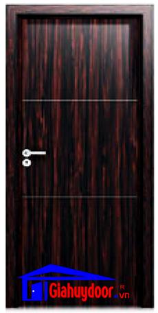 Cửa gỗ công nghiệp MDF Laminate GHD L2