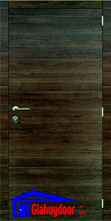 Cửa gỗ công nghiệp MDF Laminate GHD M2