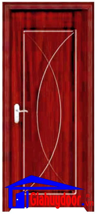 Cửa gỗ cao cấp gia huy door GHD pvc 1044