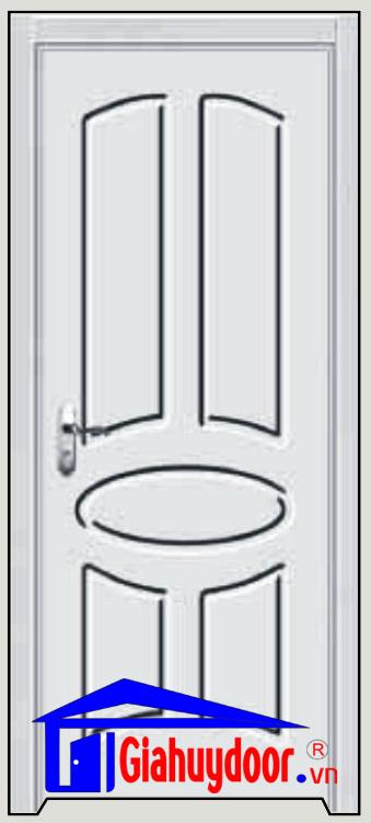 Cửa gỗ cao cấp Gia Huy Door GHD pvc 1083