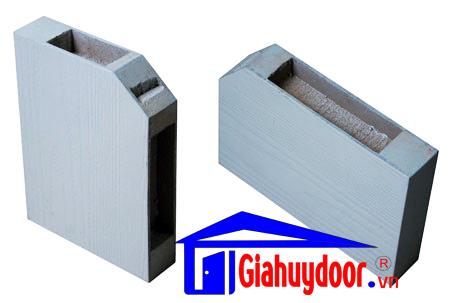 Cửa gỗ công nghiệp HDF đôi - GIAHUYDOOR 0886.500.500