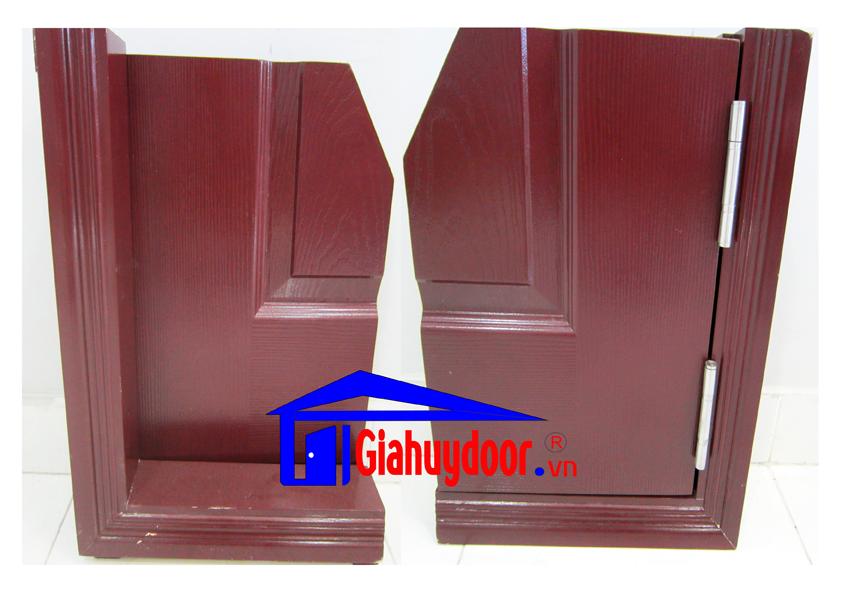 Cửa gỗ công nghiệp MDF Laminate - GIAHUYDOOR.VN 0886.500.500
