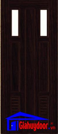 Sản phẩm cần bán: Cửa nhựa giả gỗ Y@door giá tốt nhất thị trường - Giahuydoor SGD-NG-C23-1-1