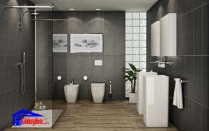 Cửa nhà vệ sinh thiết kế tiện dụng - GIA HUY DOOR 0826901901