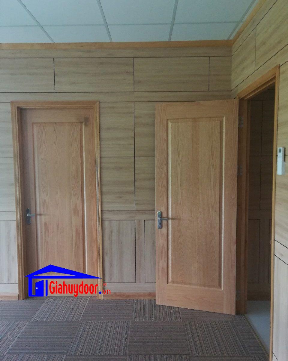 Cửa gỗ công nghiệp hdf vener 2