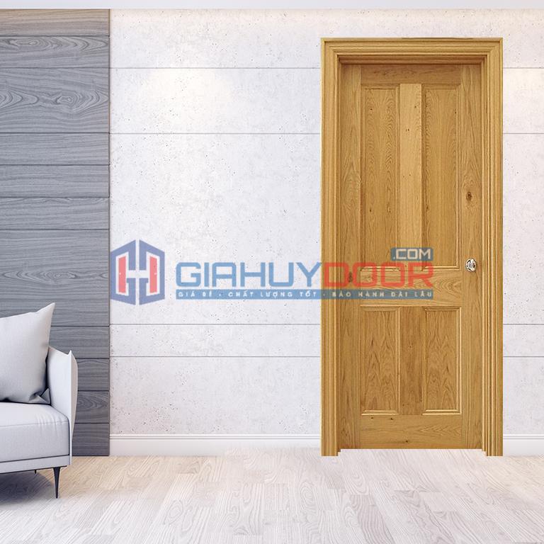 Mẫu cửa gỗ phòng ngủ