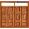 Cửa thép vân gỗ GHDCS4H11-mau-vang