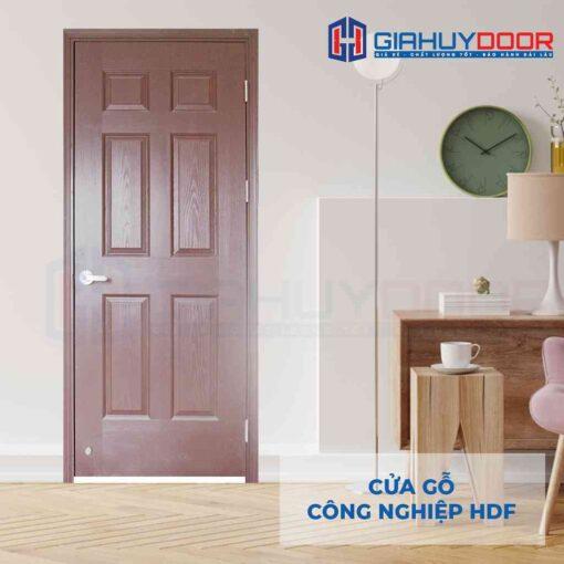 Cửa gỗ công nghiệp HDF 6A-C10
