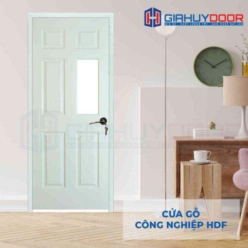 Cửa gỗ công nghiệp HDF 6AG1-C10