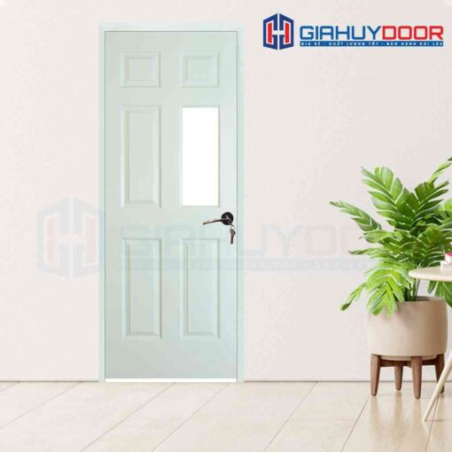 Cửa gỗ khách sạn HDF 6AG1-C10