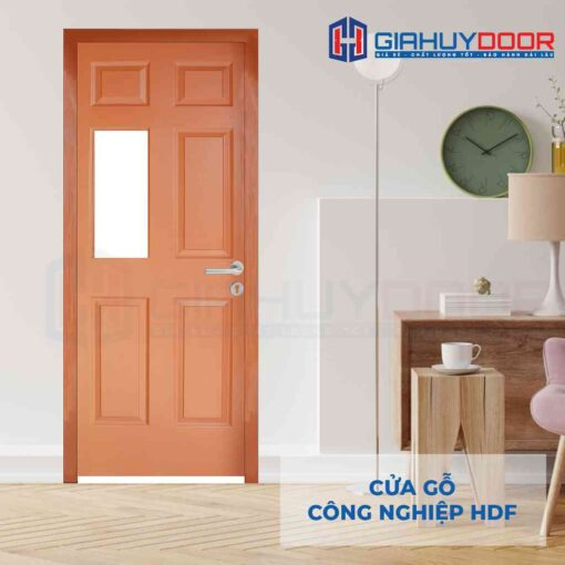 Cửa gỗ công nghiệp HDF 6G1-C10