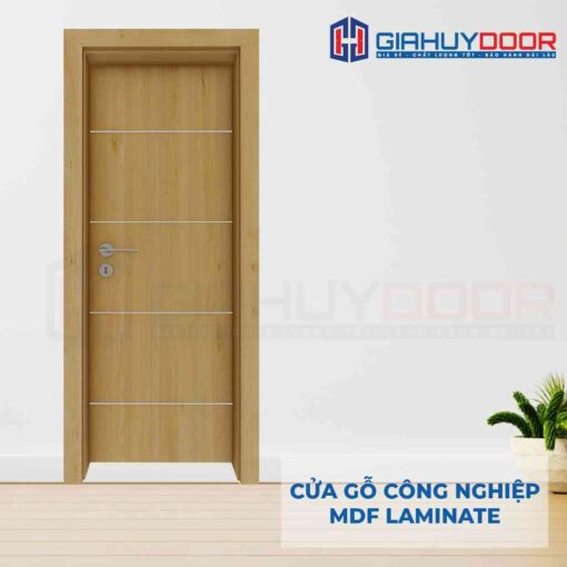 Cửa gỗ công nghiệp MDF Laminate P1R4as