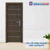 Cửa gỗ công nghiệp MDF Laminate P1R6