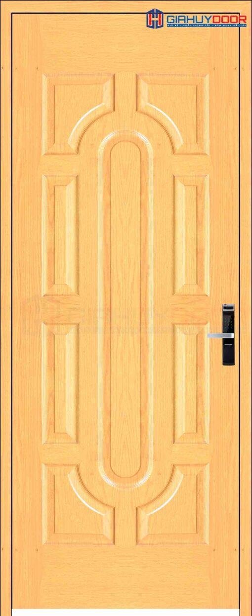 Cửa gỗ công nghiệp HDF Veneer 019 soi