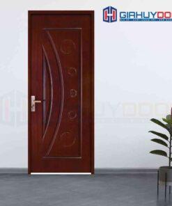Cửa gỗ công nghiệp HDF Veneer 1K cam xe