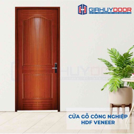 Cửa gỗ công nghiệp HDF Veneer 2A-cam xe