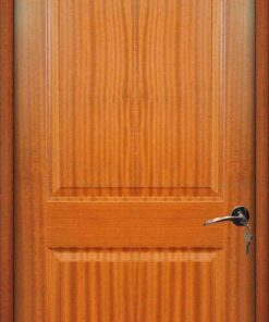 Cửa gỗ giá rẻ HDF Veneer 2A-xoan dao (4)