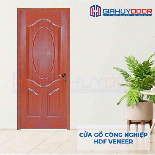 Cửa gỗ công nghiệp HDF Veneer 3A-cam xe