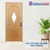Cửa gỗ công nghiệp HDF Veneer 3AG1-oak
