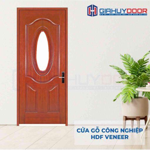 Cửa gỗ công nghiệp HDF Veneer 3GO-cam xe