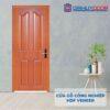 Cửa gỗ công nghiệp HDF Veneer 4A-sapele