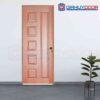 Cửa gỗ phòng ngủ HDF Veneer 6B cam xe