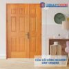 Cửa gỗ công nghiệp HDF Veneer 9A-soi