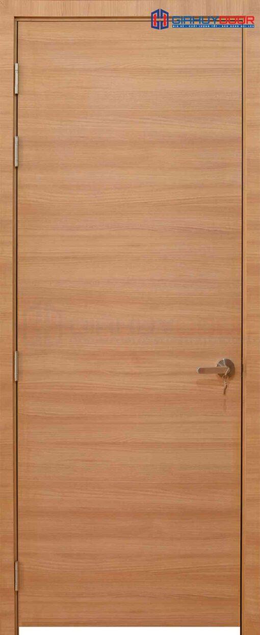 Cửa gỗ công nghiệp MDF Melamine P1 van ngang