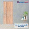 Cửa gỗ công nghiệp MDF Melamine P1R2 inox