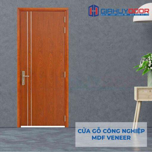 Cửa gỗ công nghiệp MDF Veneer P1R2 xoan dao (4)
