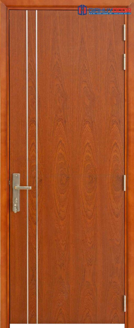 Cửa gỗ cao cấp Sài Gòn MDF Veneer P1R2 xoan dao (4)