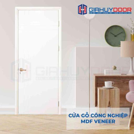 Cửa gỗ công nghiệp MDF Veneer P1R4-C1