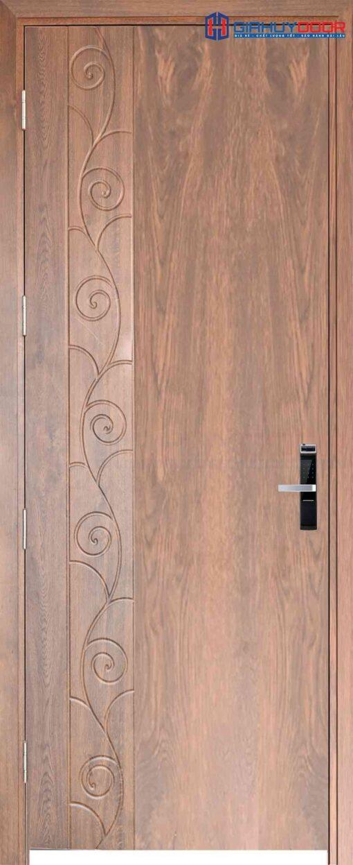 Cửa gỗ công nghiệp MDF Veneer phu pvc