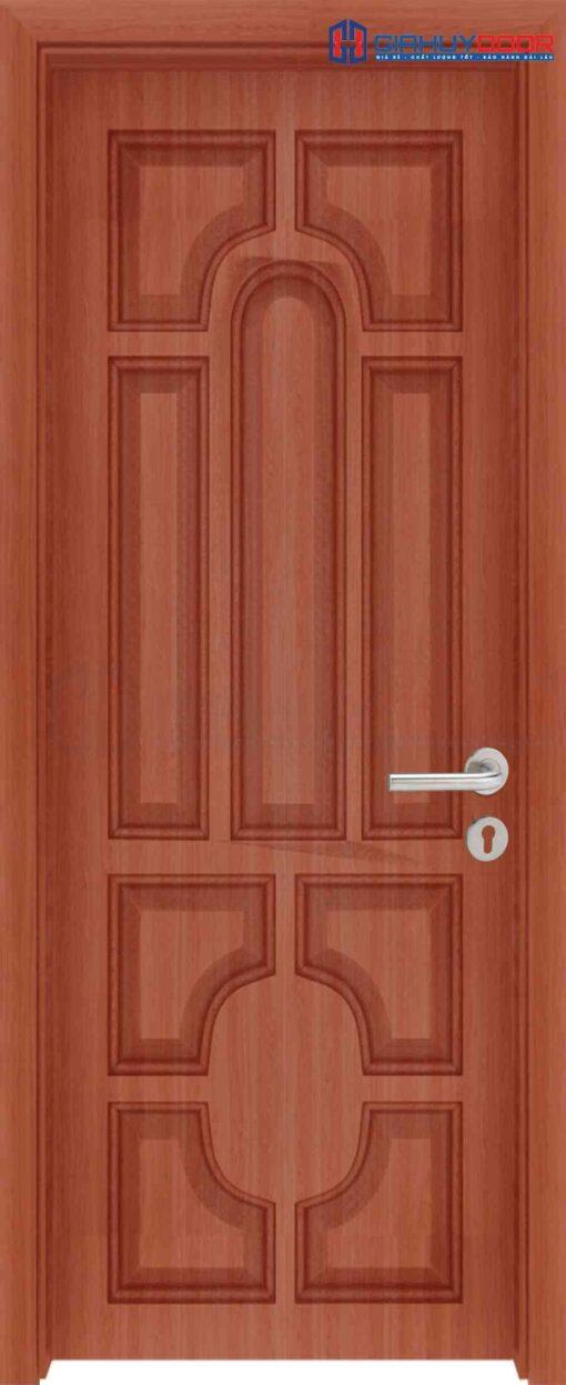 Cửa gỗ công nghiệp HDF Veneer 018 teak (2)