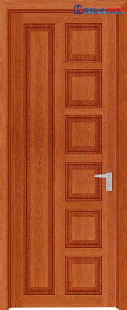 Cửa gỗ công nghiệp HDF Veneer 6B sapele (2)
