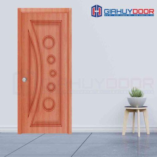Cửa gỗ công nghiệp HDF Veneer SGD 1K Xoan dao (2)