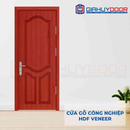 Cửa gỗ công nghiệp HDF Veneer SGD 3A cam xe (1)