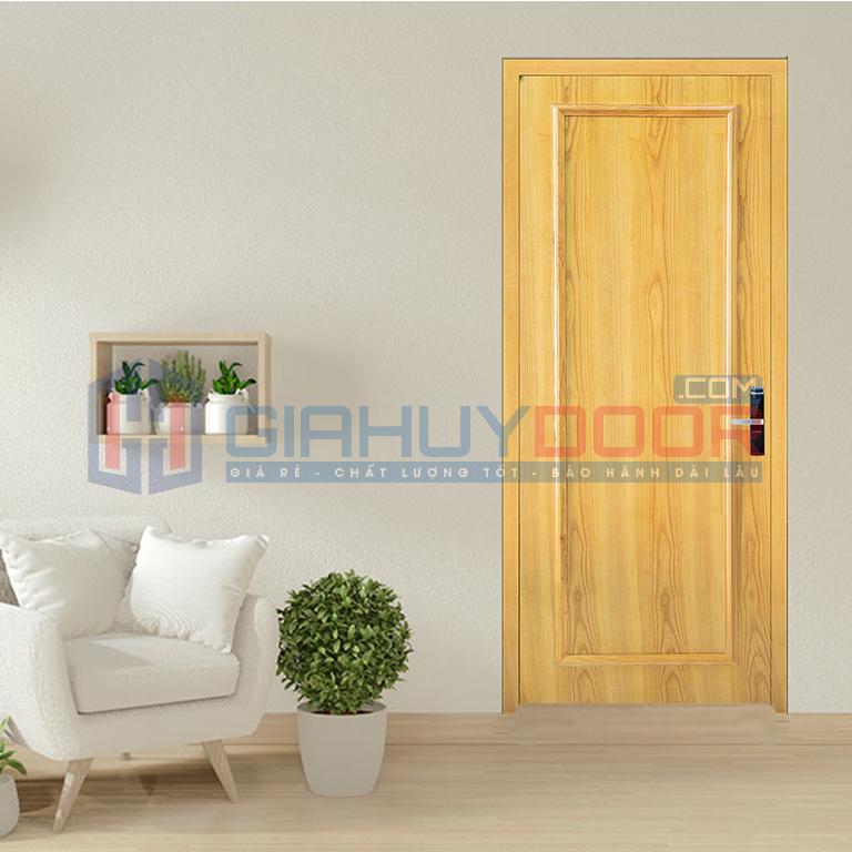 Mâu cửa gỗ MDF Veneer An Cường màu sang trọng