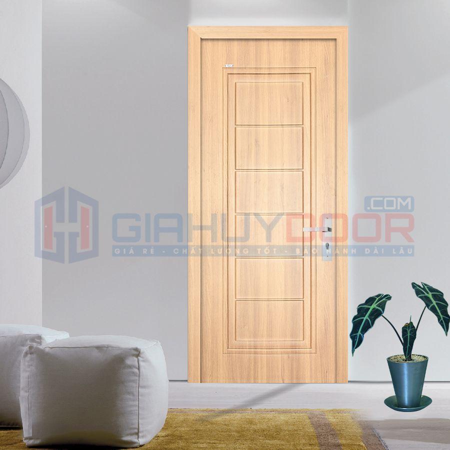 Giá cửa nhựa ABS KOS TPHCM phải chăng, chỉ bằng ⅓ so với giá của cửa gỗ tự nhiên