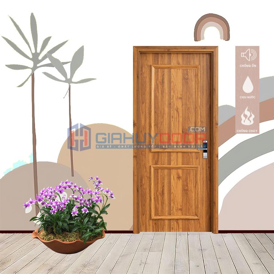 Cửa nhựa vân gỗ composite