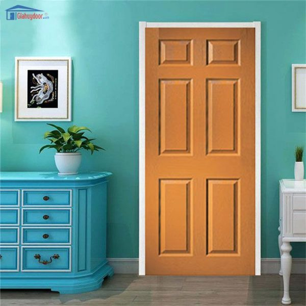 Cửa gỗ HDF Veneer GHD Da cua hdf 6A1 0886.500.500