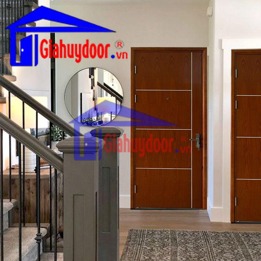 Cửa gỗ chống cháy GCC.P1R4-SAPELE, Cửa gỗ chống cháy, cửa căn hộ, cửa chống cháy, cửa gỗ cao cấp, cửa gỗ chống cháy, cửa gỗ phòng ngủ, cửa phòng karaoke, cửa phòng khách sạn, cửa phòng ngủ, cửa thép chống cháy
