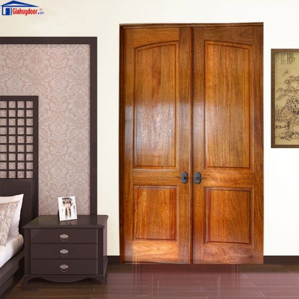 Cửa gỗ tự nhiên GHD GTN 4A-02C