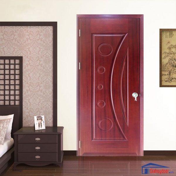 Cửa gỗ HDF Veneer GHD HDF Veneer 1K Sapele 0886.500.500
