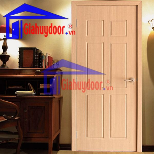 Cửa Gỗ Công Nghiệp HDF HDF.6A-C4, Cửa gỗ công nghiệp HDF, Cửa gỗ HDF, Cửa gỗ công nghiệp, Cửa gỗ cao cấp, Cửa gỗ nhà ở, Cửa gỗ cách âm, Cửa gỗ chất lượng cao,