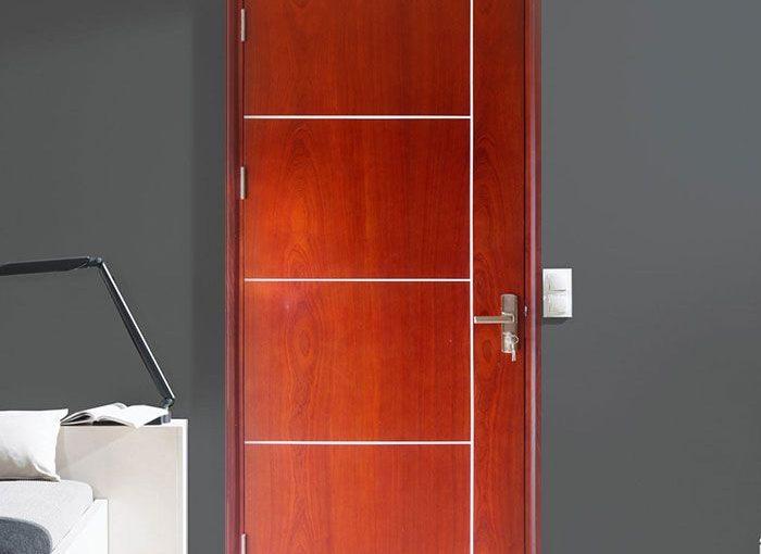 Cửa gỗ MDF MELAMINE GHD Veneer P1R4b Xoan Đào 0886.500.500